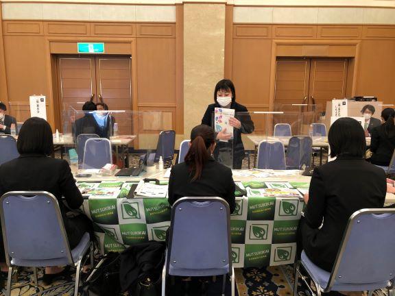 記事 淑徳大学千葉キャンパスの合同仕事説明会に参加してきました。のアイキャッチ画像
