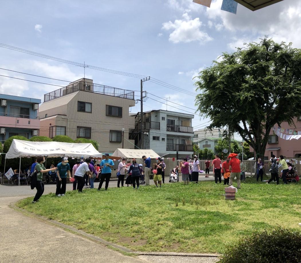 記事 大田区立大田生活実習所で運動会を開催しました!のアイキャッチ画像